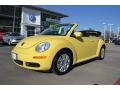 Volkswagen New Beetle S Convertible Sunflower Yellow photo #1
