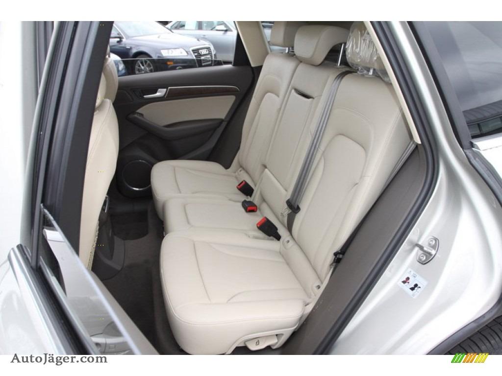 Audi Pistachio Beige Interior