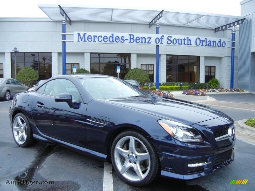 2012 mercedes benz slk 250 roadster in lunar blue metallic for Mercedes benz millenia