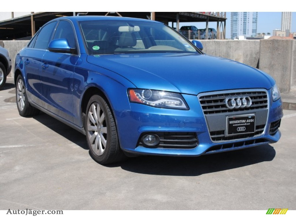2009 Audi A4 2 0t Sedan In Aruba Blue Pearl Effect