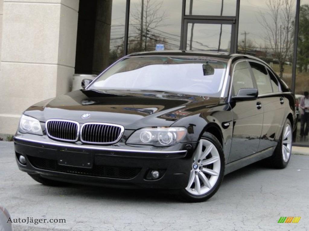 2007 bmw 7 series 750li sedan in azurite black metallic t68615 auto j ger german cars for. Black Bedroom Furniture Sets. Home Design Ideas