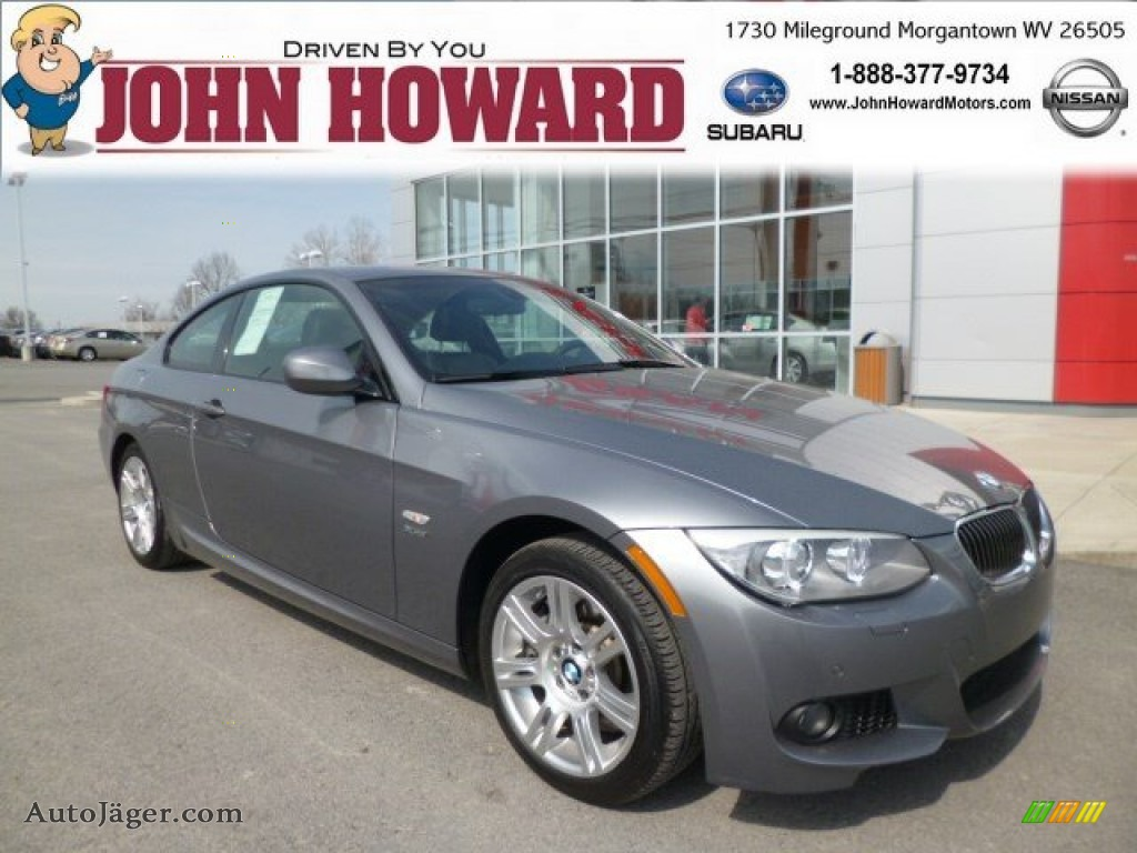 2012 Bmw 3 Series 335i Xdrive Coupe In Space Grey Metallic
