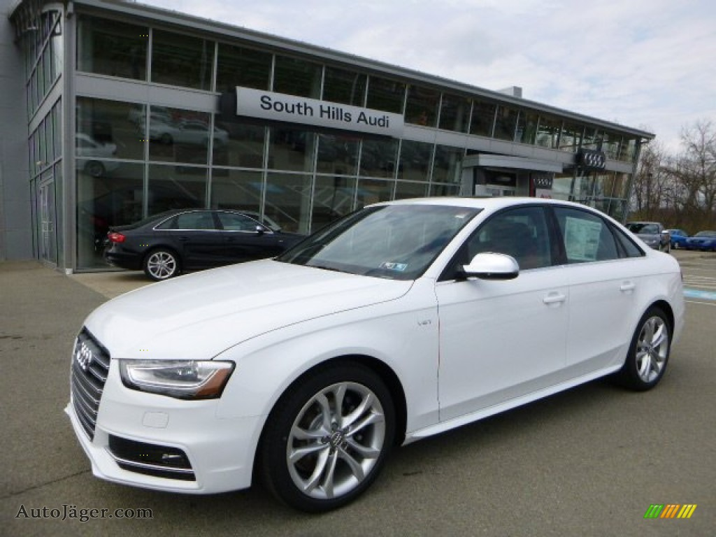 2013 audi s4 3 0t quattro sedan in glacier white metallic 201136 auto j ger german cars. Black Bedroom Furniture Sets. Home Design Ideas