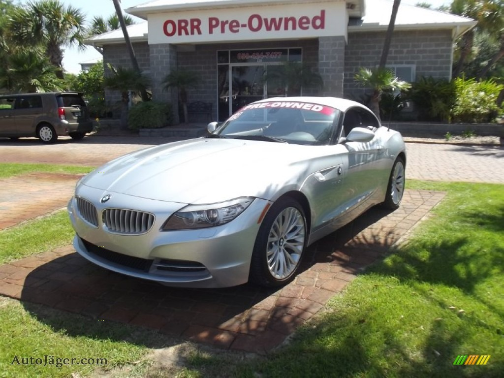 2009 Bmw Z4 Sdrive35i Roadster In Titanium Silver Metallic