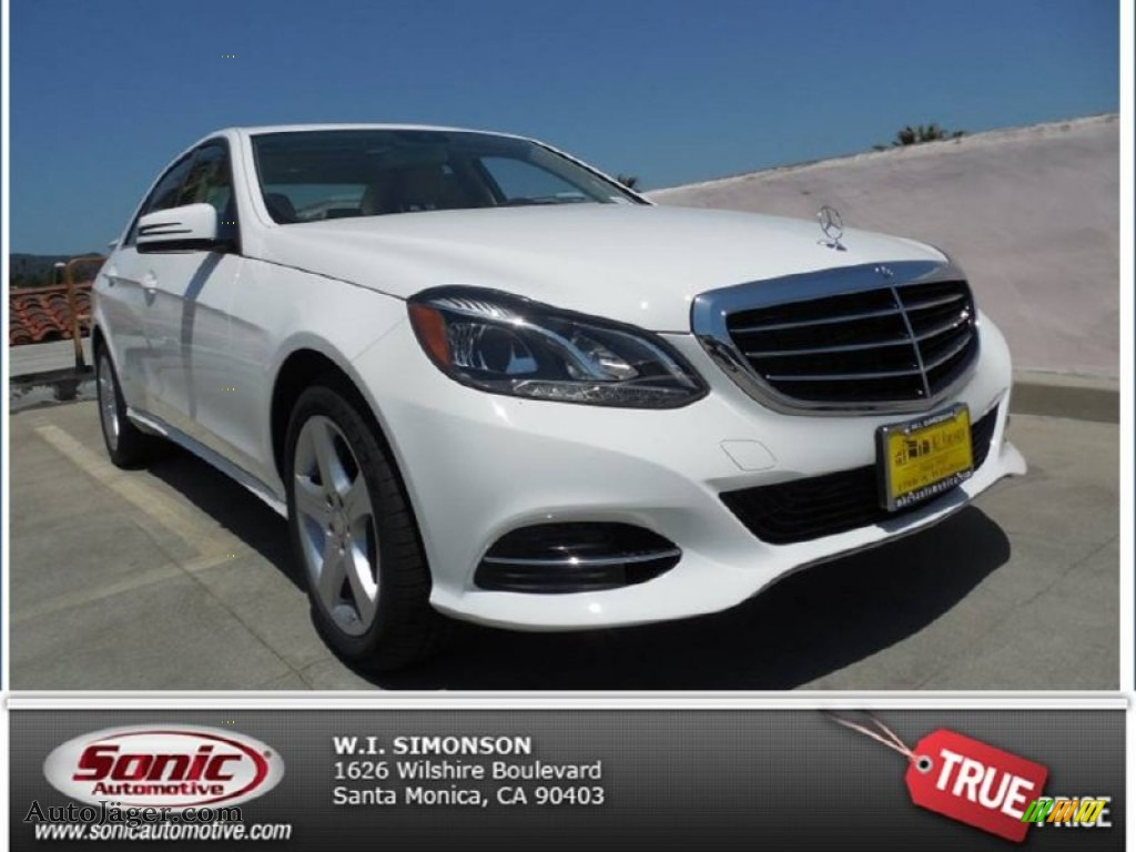 2014 mercedes benz e 350 sedan in polar white photo 4 for Simonson mercedes benz