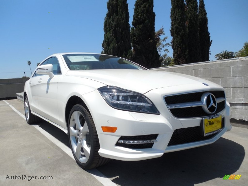 2014 mercedes benz cls 550 coupe in diamond white metallic for Cls mercedes benz for sale