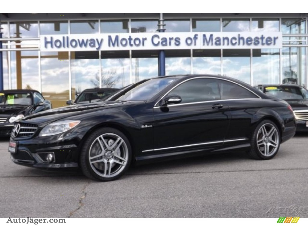 2008 mercedes benz cl 63 amg in black 010623 auto for Mercedes benz cl 300 for sale