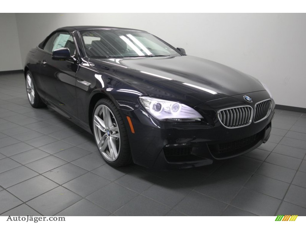 2014 bmw 6 series 650i convertible in carbon black. Black Bedroom Furniture Sets. Home Design Ideas