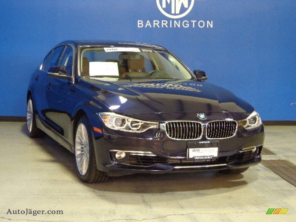 2012 bmw 3 series 335i sedan in imperial blue metallic x59638 auto j ger german cars for