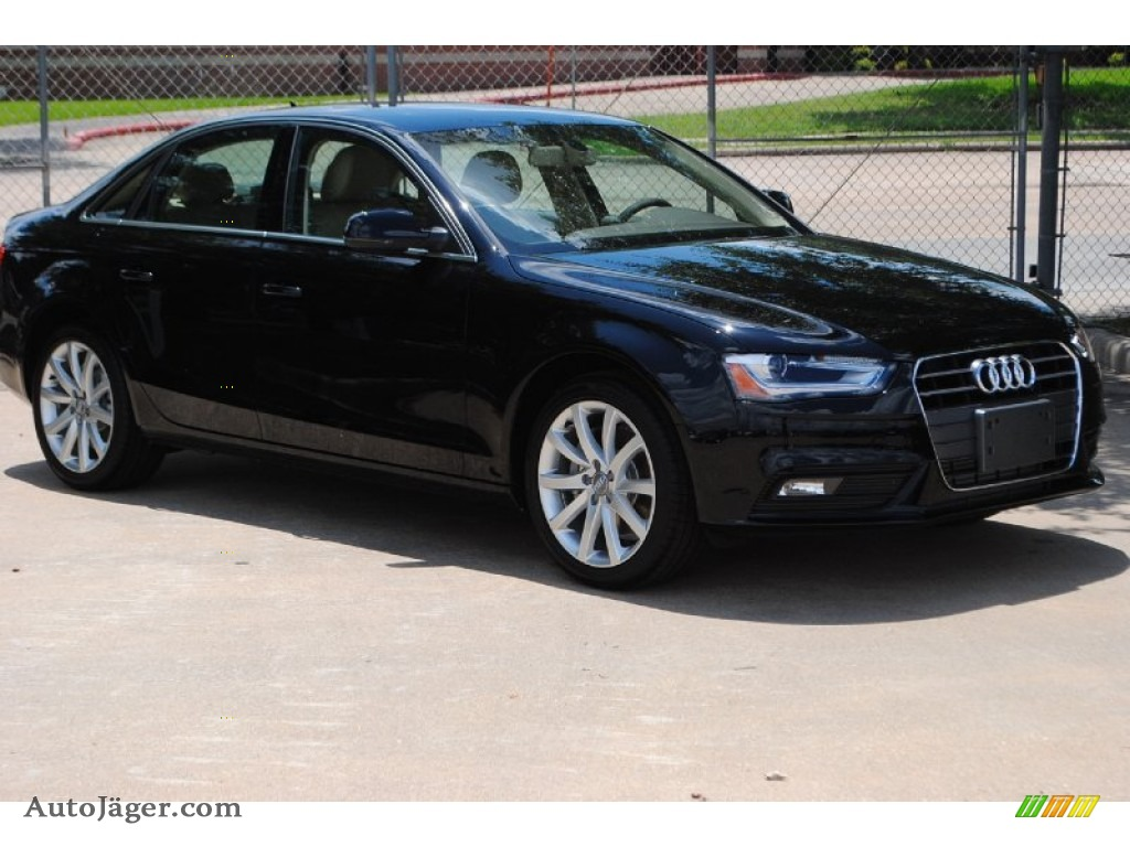 black audi 2013. 2013 a4 20t sedan brilliant black velvet beigemoor brown photo audi