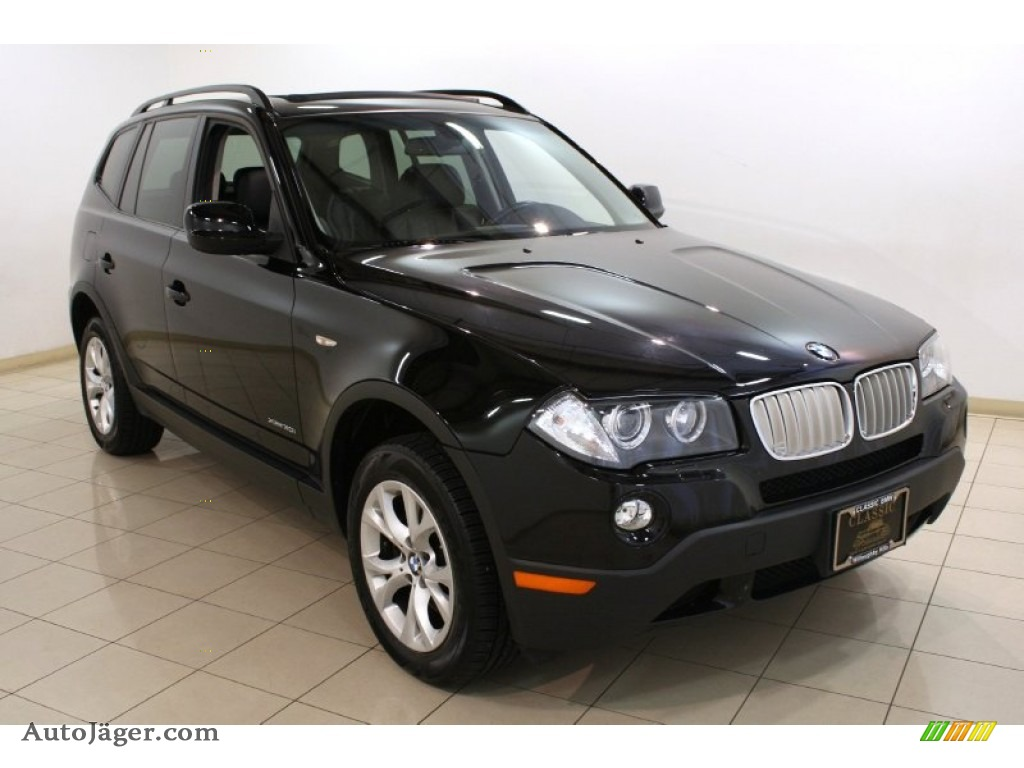 2010 bmw x3 xdrive30i in jet black j31645 auto j ger german cars for sale in the us. Black Bedroom Furniture Sets. Home Design Ideas