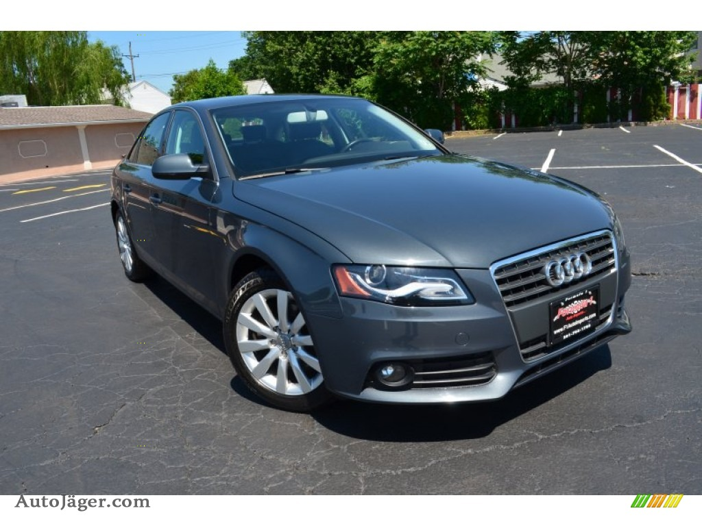 2010 audi a4 2 0t quattro sedan in meteor gray pearl effect 063196 auto j ger german cars. Black Bedroom Furniture Sets. Home Design Ideas