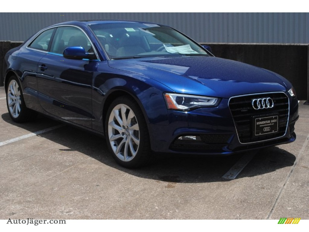 2013 Audi A5 2 0t Quattro Coupe In Scuba Blue Metallic