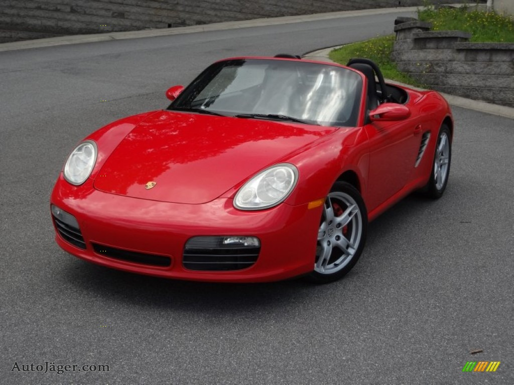 2005 porsche boxster s in guards red 730827 auto j ger. Black Bedroom Furniture Sets. Home Design Ideas