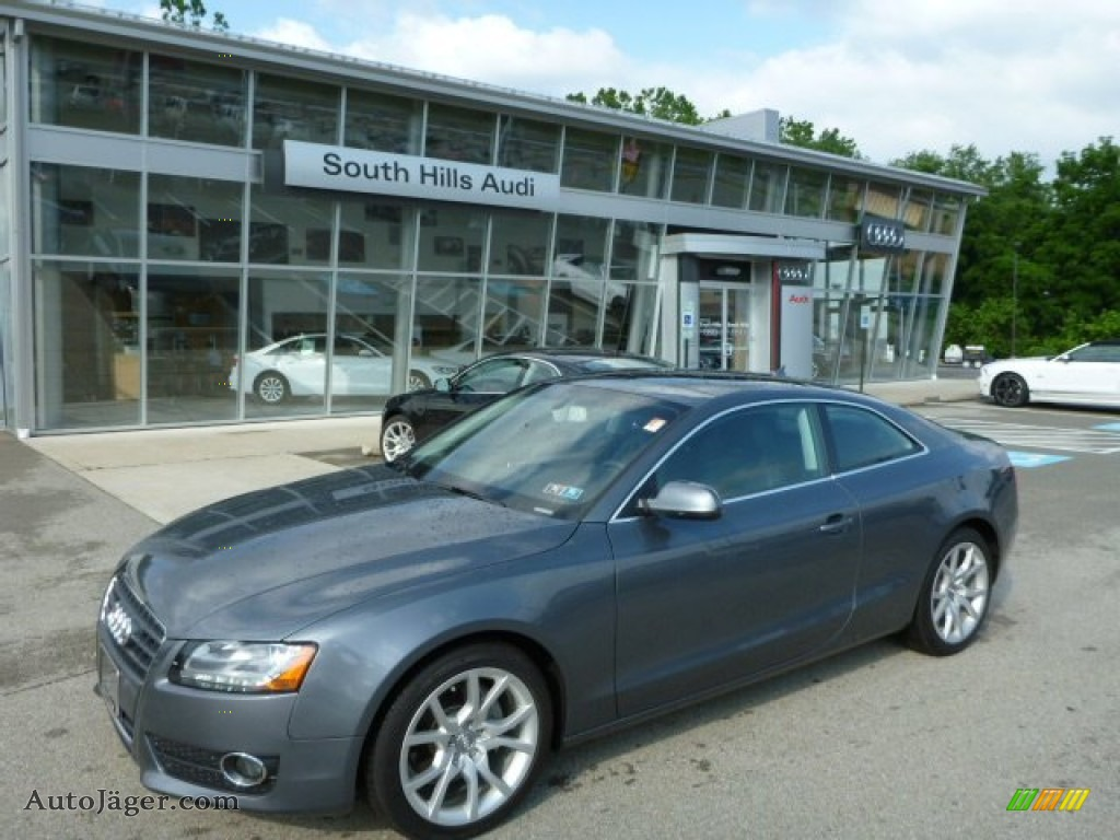 2012 audi a5 2 0t quattro coupe in monsoon gray metallic 034479 auto j ger german cars for - 2012 audi a5 coupe for sale ...