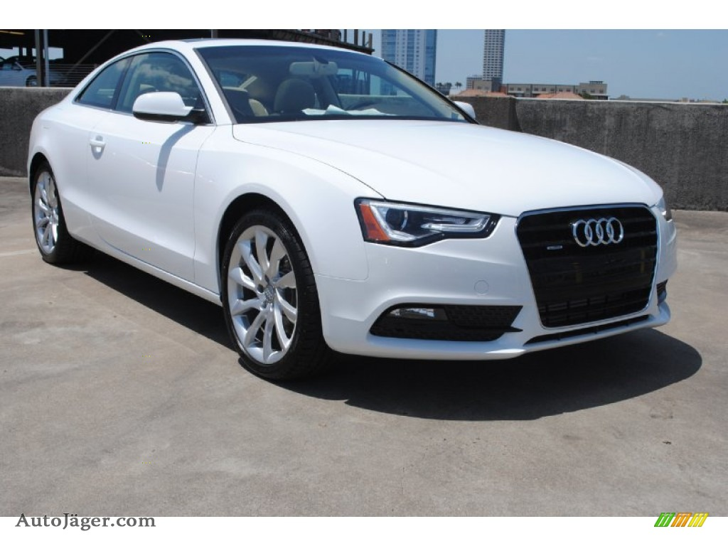 2013 audi a5 2 0t quattro coupe in ibis white 080168 auto j ger german cars for sale in the us. Black Bedroom Furniture Sets. Home Design Ideas