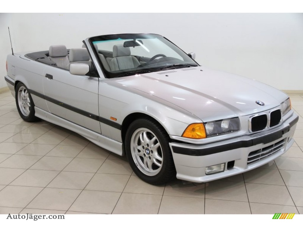 1999 bmw 3 series 328i convertible in titanium silver. Black Bedroom Furniture Sets. Home Design Ideas