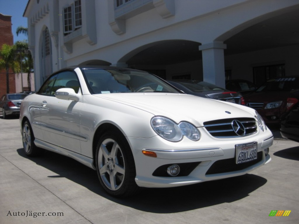 2007 mercedes benz clk 550 cabriolet in arctic white for 2007 mercedes benz clk550