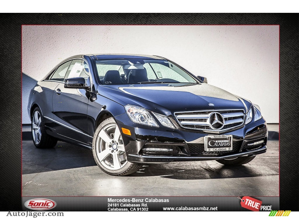 2013 mercedes benz e 550 coupe in black 200249 auto j ger german cars for sale in the us. Black Bedroom Furniture Sets. Home Design Ideas