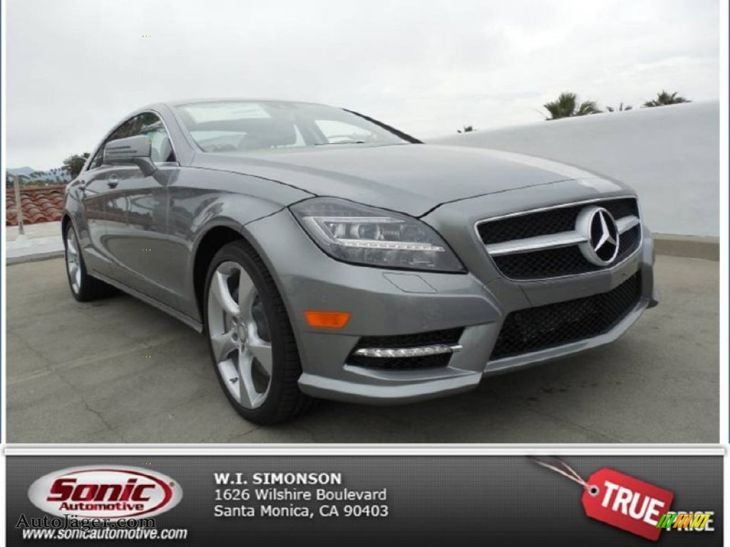 2014 mercedes benz cls 550 coupe in palladium silver for Simonson mercedes benz