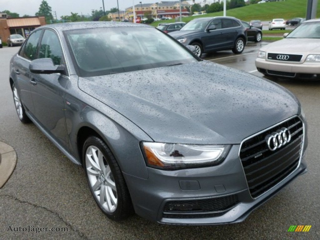 2014 Audi A4 2.0T quattro Sedan in Monsoon Grey Metallic ...