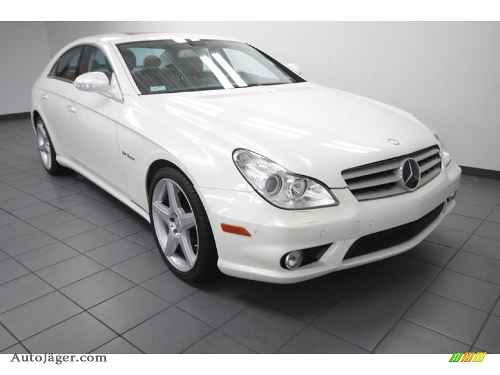 2008 mercedes benz cls 63 amg in arctic white 125522 for Mercedes benz cls amg for sale