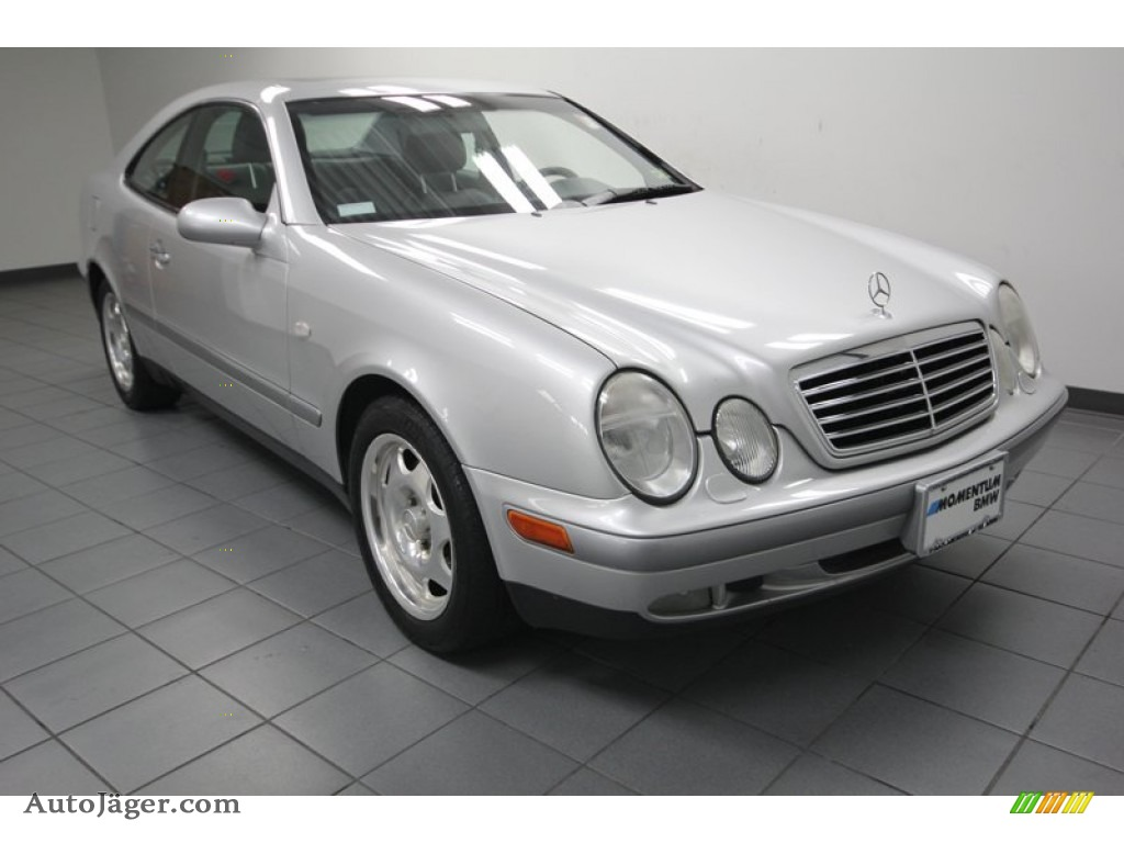 1999 mercedes benz clk 320 coupe in brilliant silver for 1999 mercedes benz clk320 for sale