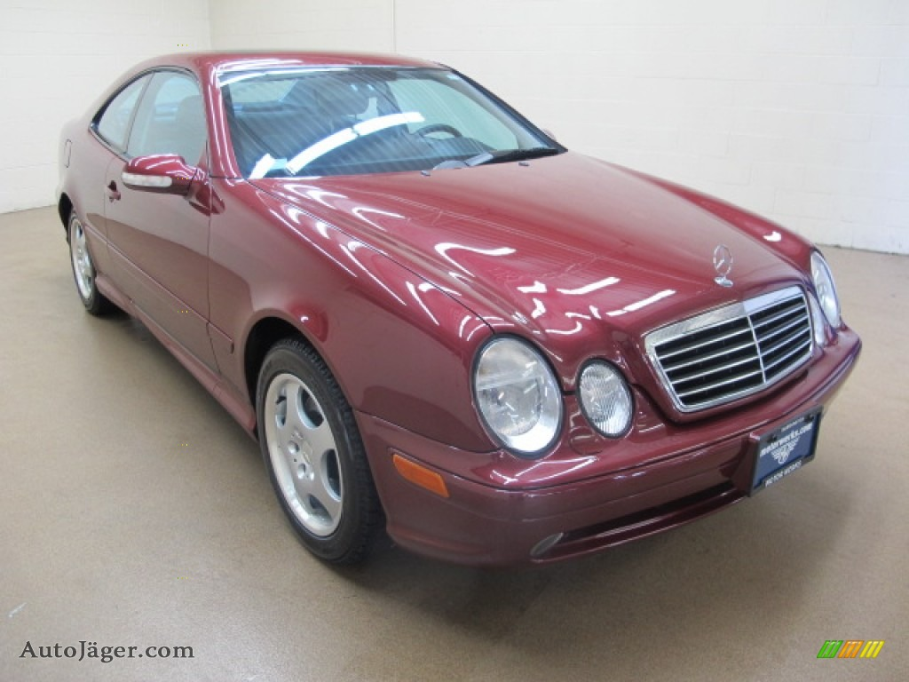 2002 mercedes benz clk 430 coupe in bordeaux red metallic 192712 auto j ger german cars. Black Bedroom Furniture Sets. Home Design Ideas
