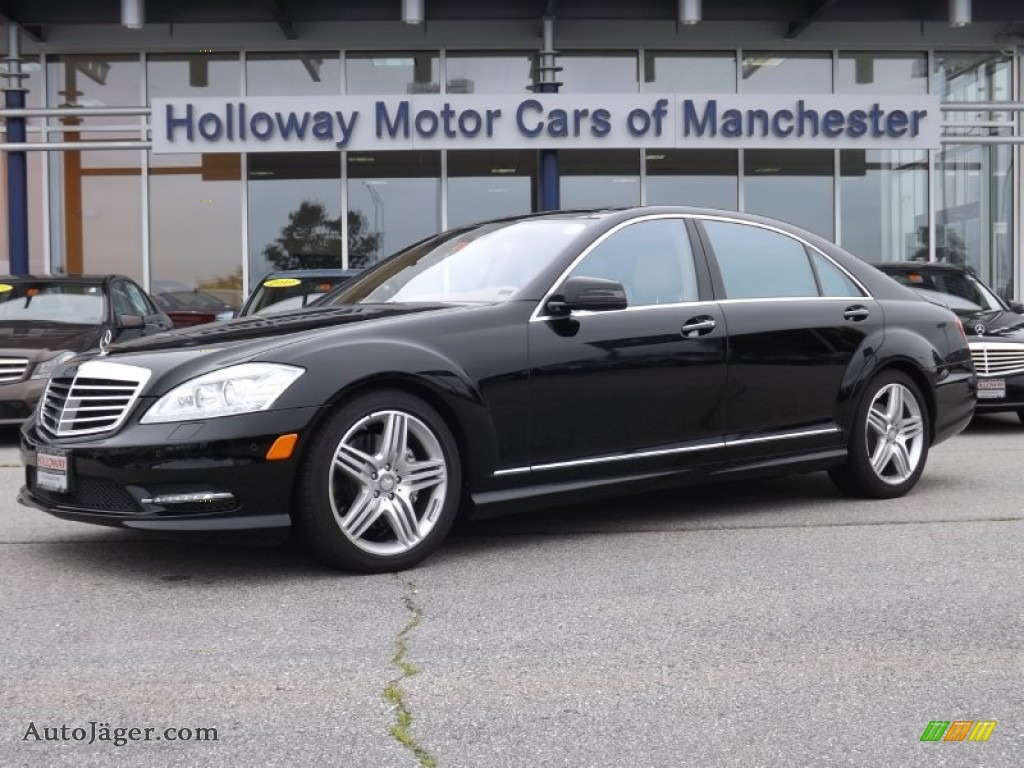 2013 mercedes benz s 550 4matic sedan in black photo 6 for Holloway motor cars manchester