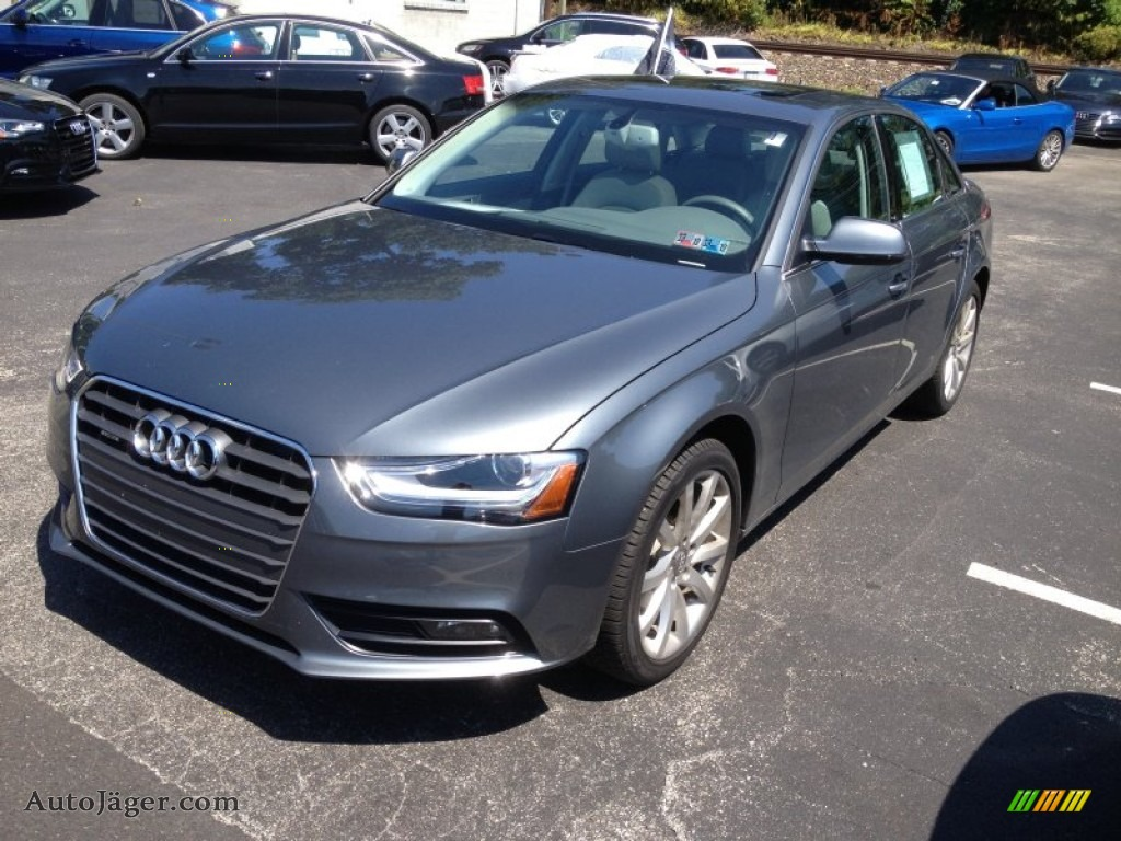 2013 Audi A4 2 0t Quattro Sedan In Monsoon Gray Metallic