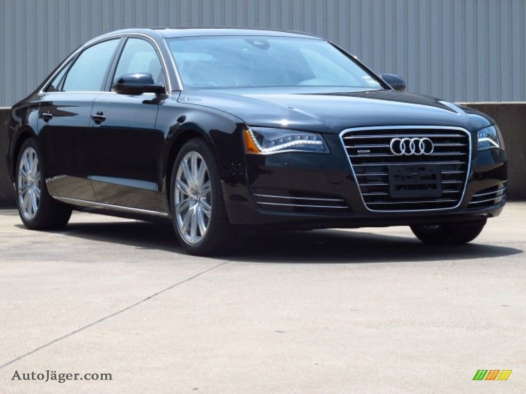 2014 audi a8 l tdi quattro in phantom black pearl effect 003662 auto j ger german cars for. Black Bedroom Furniture Sets. Home Design Ideas