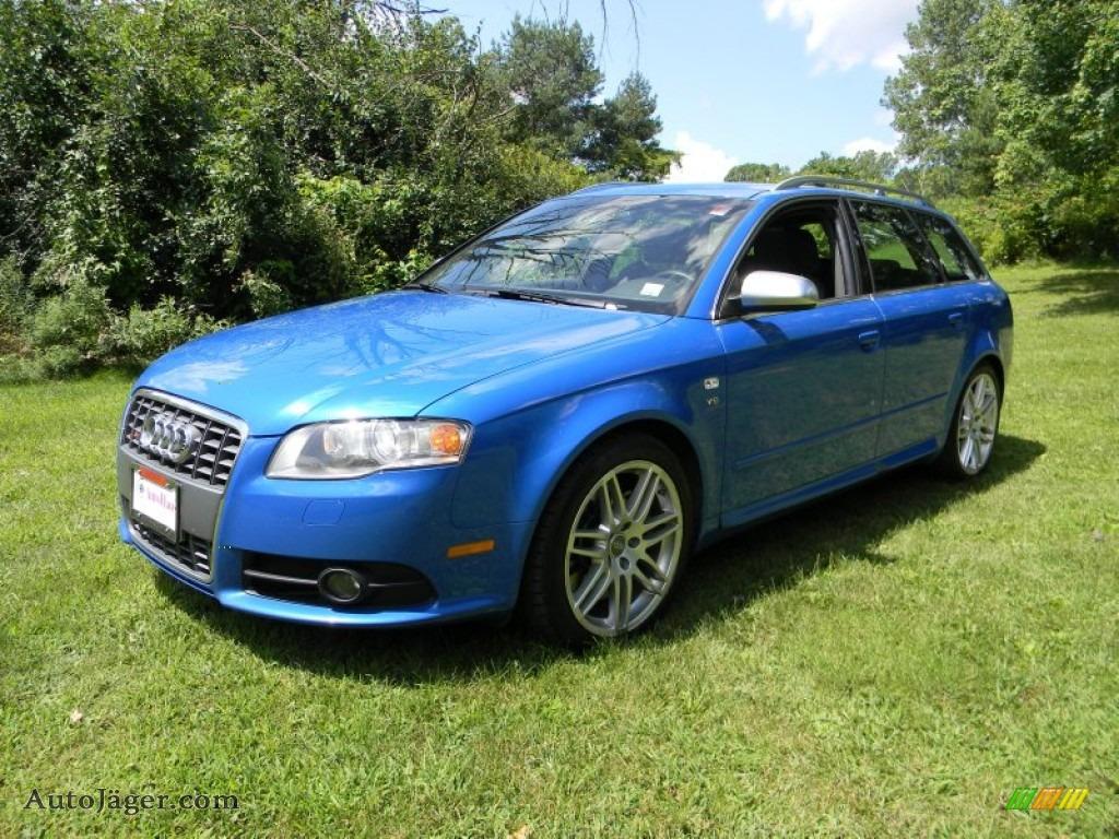 2008 Audi S4 4 2 Quattro Avant In Sprint Blue Pearl Effect