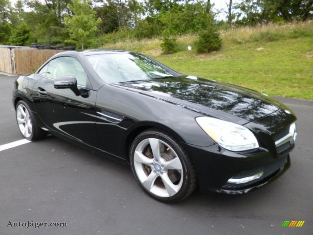 2012 mercedes benz slk 350 roadster in black 009506 for Mercedes benz slk roadster for sale