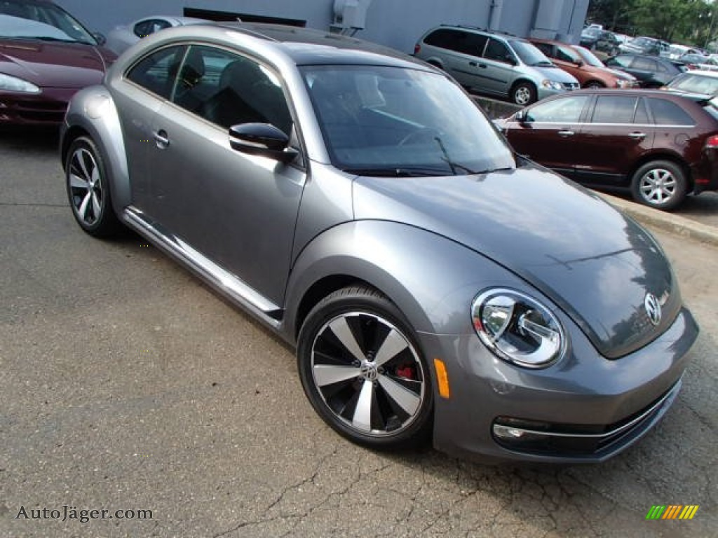 2012 Volkswagen Beetle Turbo In Platinum Gray Metallic