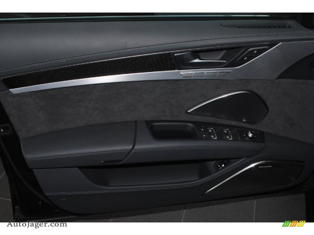 2014 S8 quattro S - Phantom Black Pearl / Black photo #15