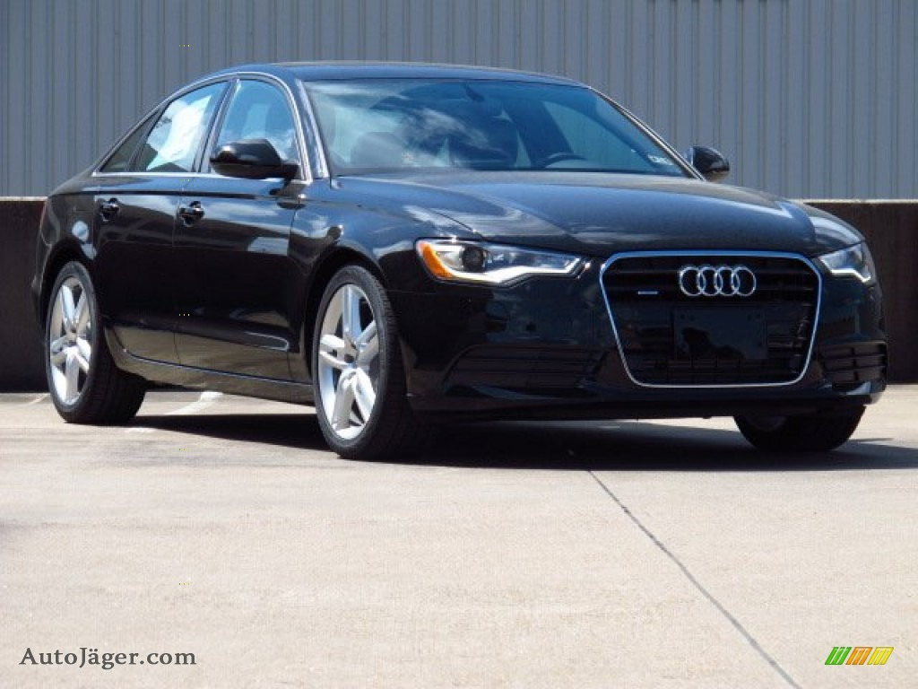 2014 audi a6 3 0 tdi quattro sedan in brilliant black. Black Bedroom Furniture Sets. Home Design Ideas