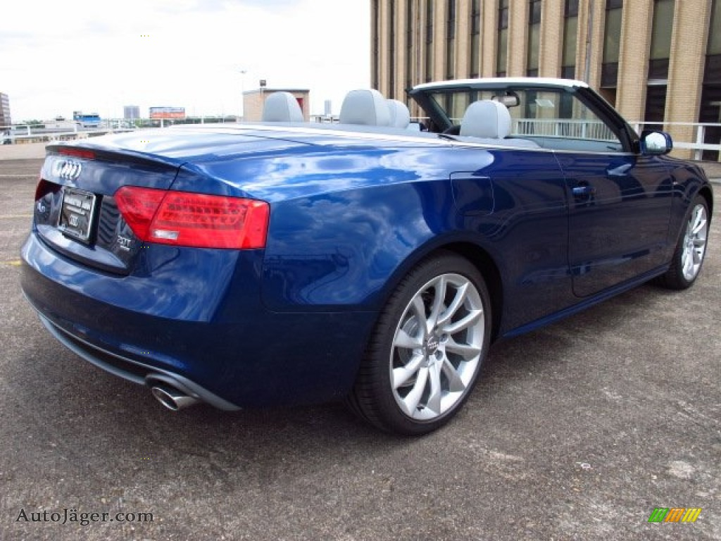 2014 Audi A5 2 0t Quattro Cabriolet In Scuba Blue Metallic Photo 3 002009 Auto Jager German Cars For Sale In The Us