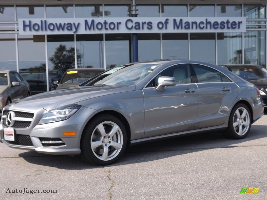 2014 Mercedes Benz Cls 550 4matic Coupe In Palladium
