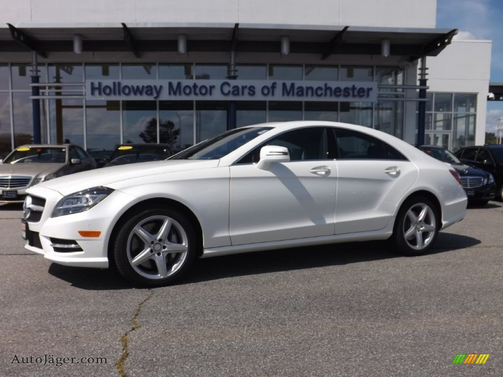 2014 mercedes benz cls 550 4matic coupe in diamond white for Mercedes benz cls sale