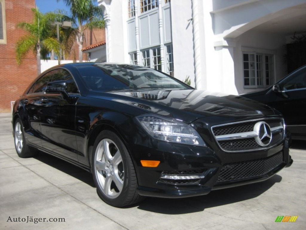 2012 mercedes benz cls 550 coupe in black 040491 auto for Simonson mercedes benz