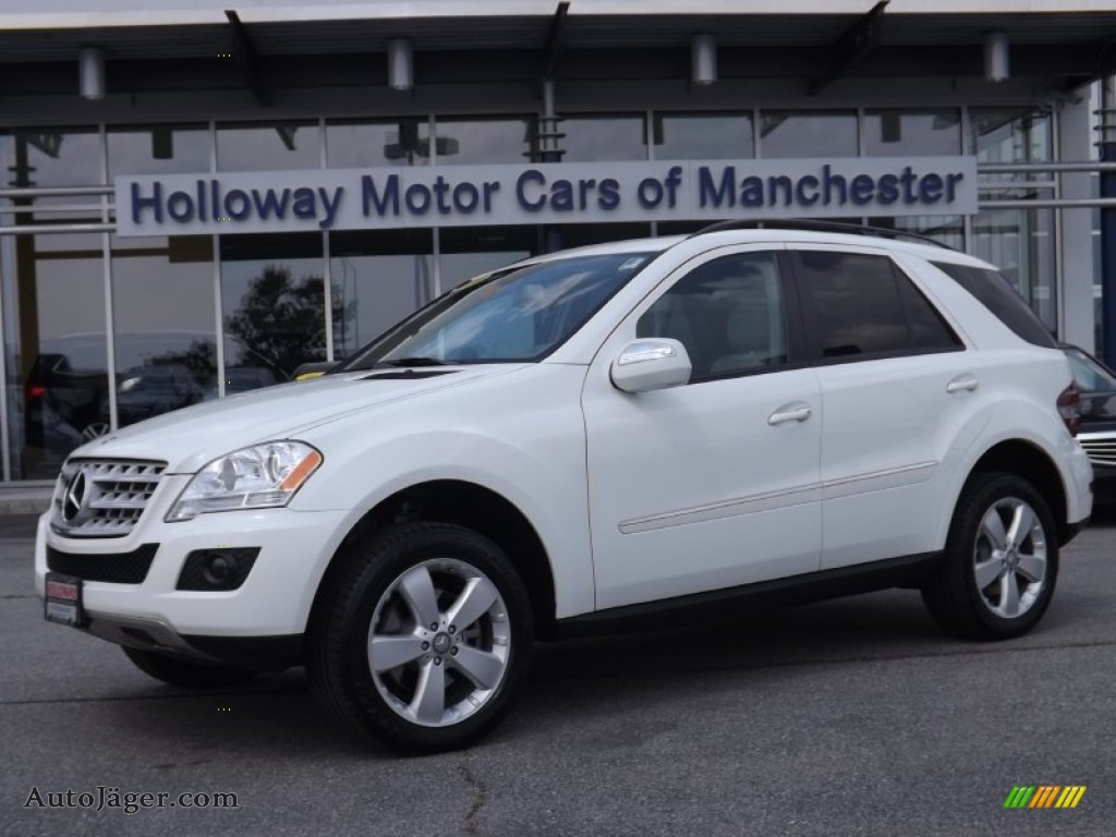 2009 mercedes benz ml 350 4matic in arctic white 518258 for 2009 mercedes benz ml350 4matic for sale