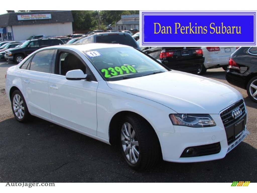 2011 audi a4 2 0t quattro sedan in ibis white 085459. Black Bedroom Furniture Sets. Home Design Ideas