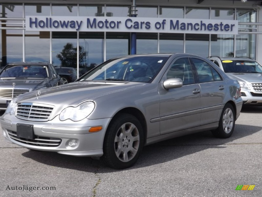 2005 Mercedes Benz C 240 4matic Sedan In Pewter Silver