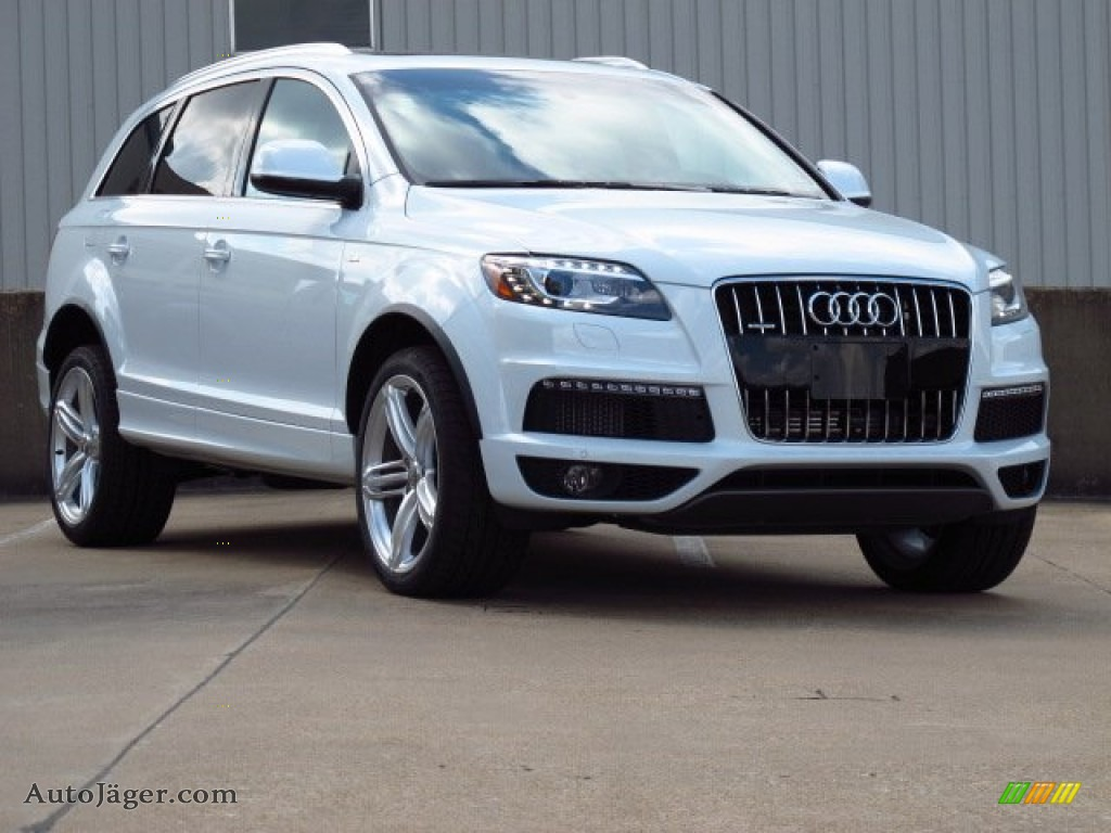 Audi Q7 White 2014