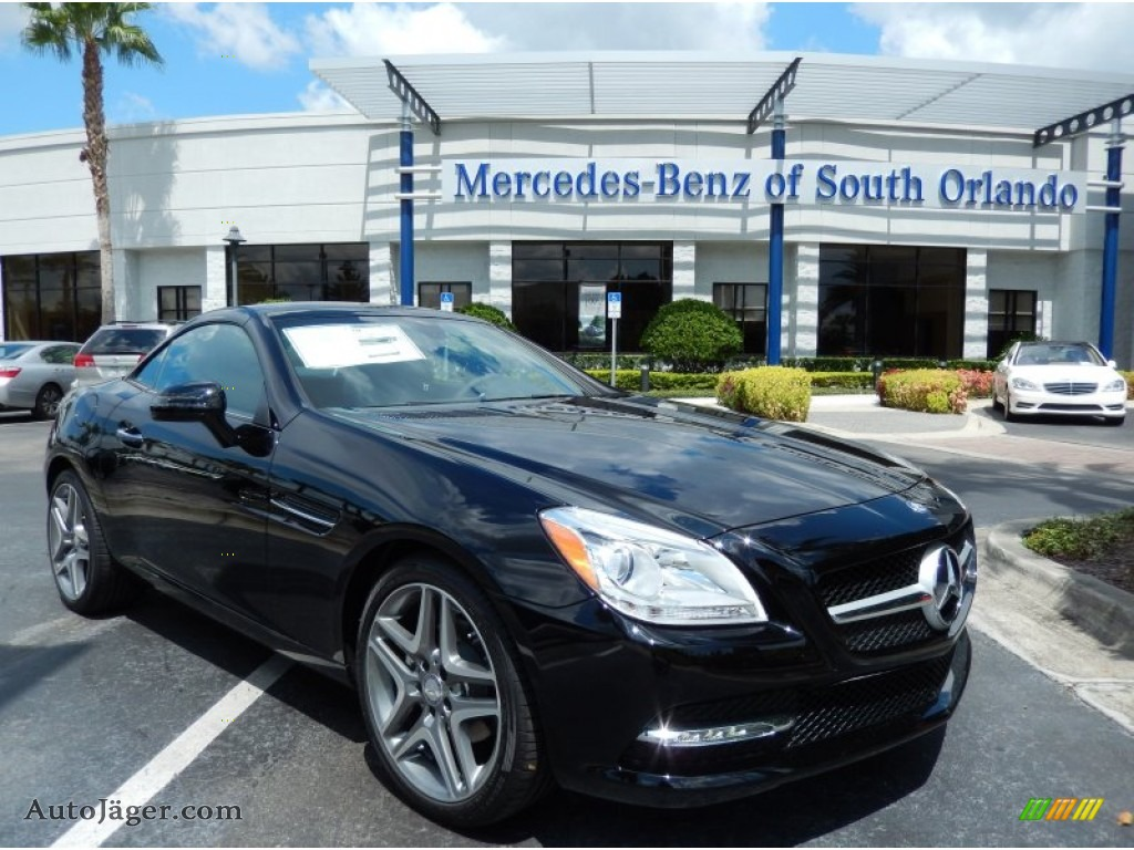 2014 mercedes benz slk 250 roadster in black 077744 for Mercedes benz millenia