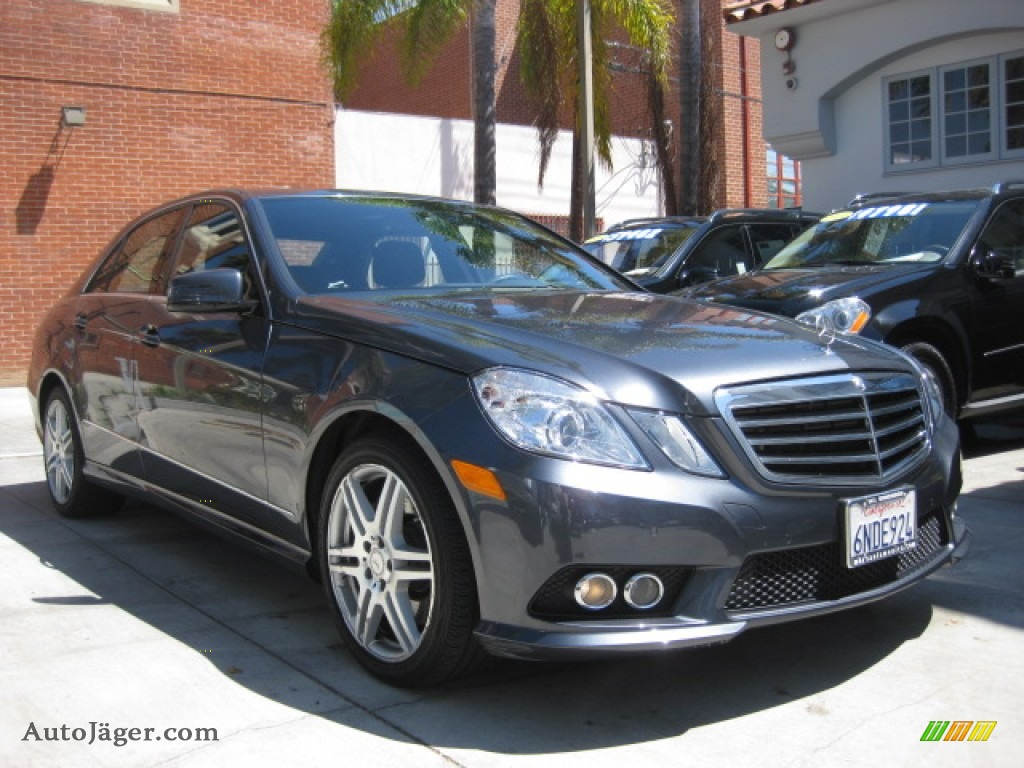 2010 mercedes benz e 550 sedan in steel grey metallic for Simonson mercedes benz