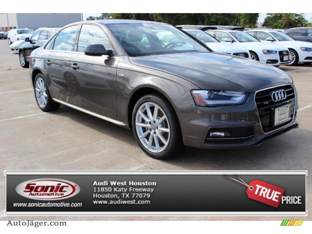 2014 audi a4 2 0t quattro sedan in dakota grey metallic - Chestnut brown exterior gloss paint ...