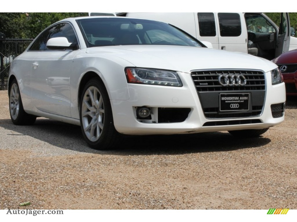 2012 audi a5 2 0t quattro coupe in ibis white 003155 auto j ger german cars for sale in the us - 2012 audi a5 coupe for sale ...