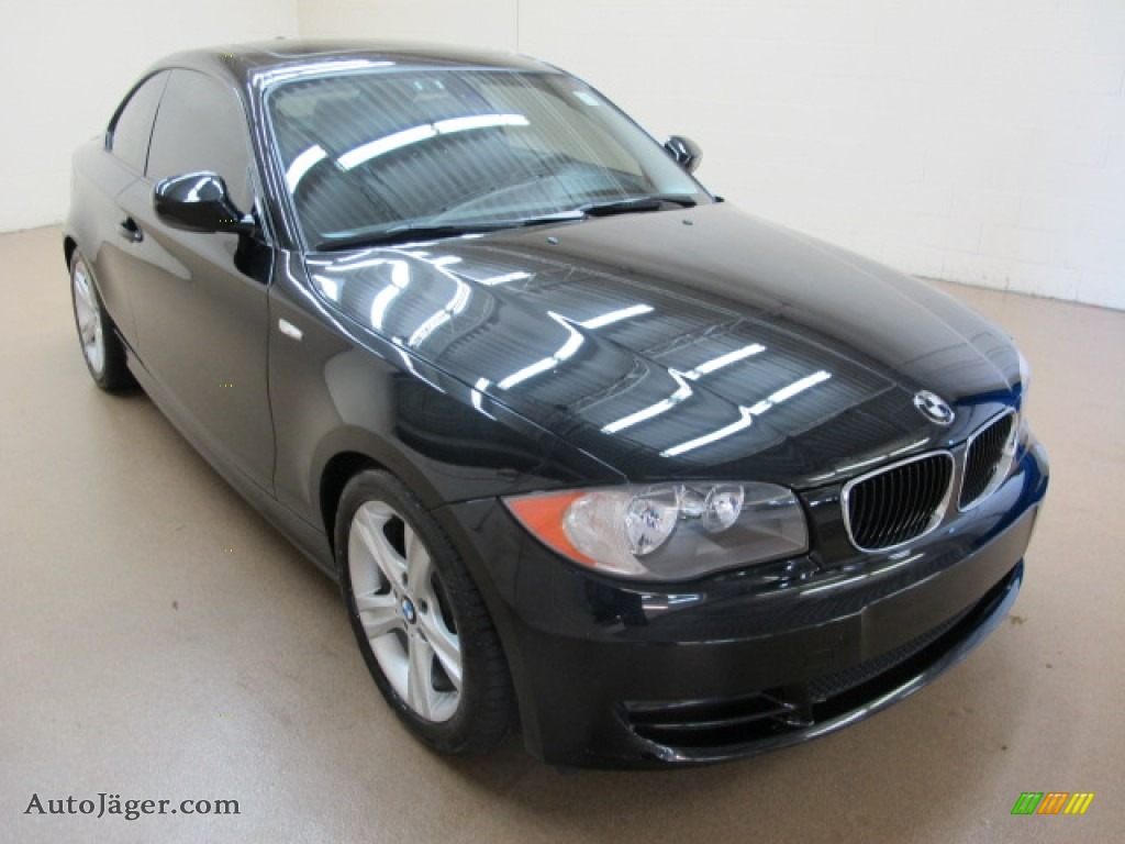 2011 Bmw 1 Series 128i Coupe In Jet Black M54401 Auto J 228 Ger German Cars For Sale In The Us