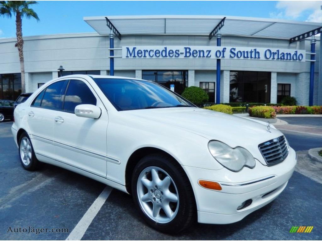 2004 mercedes benz c 240 sedan in alabaster white 017881 for Mercedes benz of south orlando orlando fl 32839